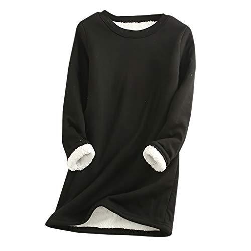VANMO Pyjama Peluche Pyjama Hiver Femme 2020 Automne Hiver Nouveau Mode Pyjama Hiver Fille Pyjama Charmant Chaud Toute la Nuit Chemise Moulante Femme