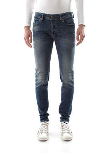 Diesel Herren Sleenker-00s7vg-082ab-34 Skinny Jeans, Blau (Azul 082ab), 48 (Herstellergröße: 34)