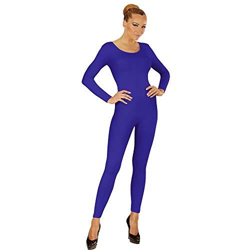 Widmann 04604 Langer Body für Damen, Blau, XL