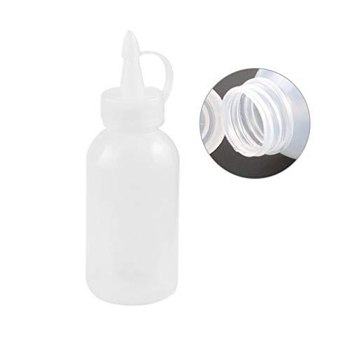 shunbang yuan Ensalada de Aterrizaje Salsa de la Botella de Aceite de Almacenamiento de Botellas de plástico de 100 ml de condimentos para la Cocina dispensador