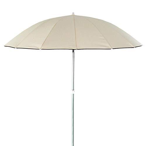 Parasol sombrilla Oriental Beige de Aluminio para jardín de 250 cm Garden - LOLAhome