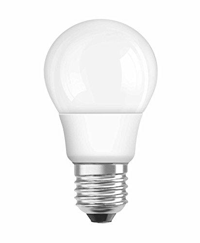 OSRAM LED-Lampe E27 Classic A Energiesparlampe / 6W - 40 Watt-Ersatz, LED Birne als Kolbenlampe / matt, warmweiß - 2700K