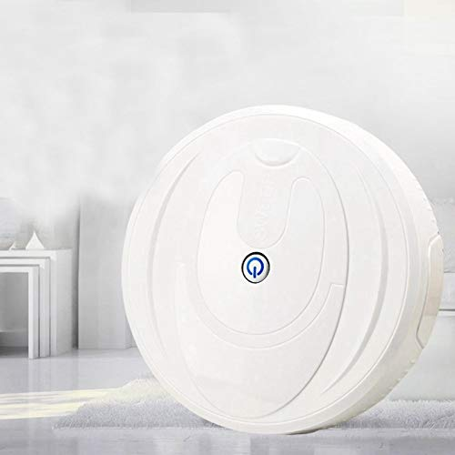 Read About Hukphd Full Automatic Mini Vacuuming Robot Vacuum Cleaner Sweep and Wet Mop Simultaneousl...