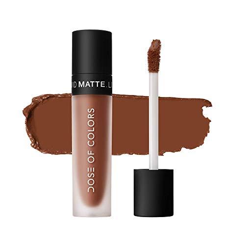 Dose of Colors - Liquid Matte Lipstick - Cork, 0.16oz