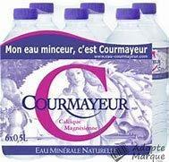 Eau Minérale Naturelle de Courmayeur 50 cl (par colis de 24x50 cl)