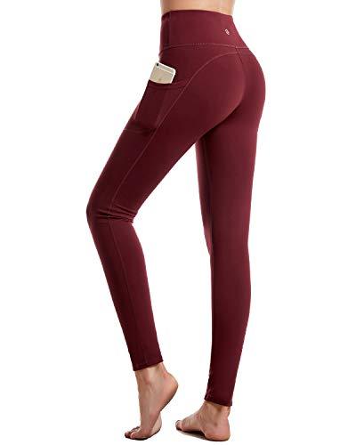 CAMBIVO Mallas de Deporte, Pantalones de Compresion de Mujer, para Correr, Hacer Ejercicio, Yoga, Caminar.