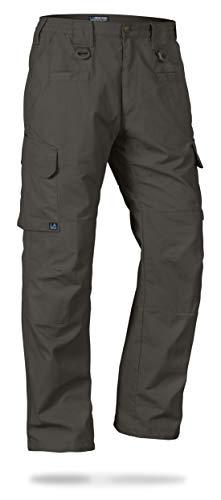 La Policía Gear Operador Tactical Pantalones con Cinturilla elástica