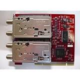 No brand 【バルク品】【メーカー保証なし】 赤いPT2 DECULTURE PT2×2 【合計4基のデジタルチューナー搭載PCIボード】