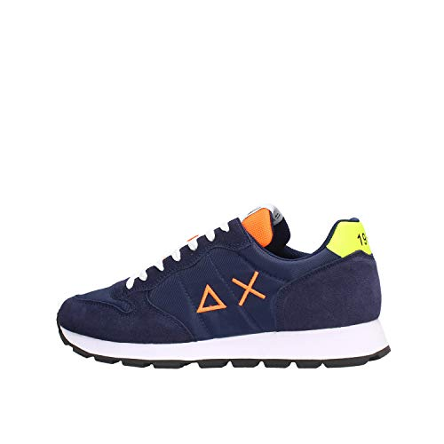 SUN68 Sneaker Low Tom Blau Herren - 44 EU