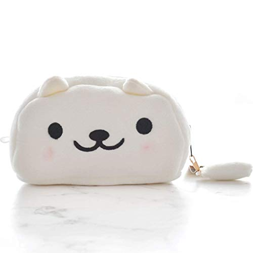 Papeleria Gran capacidad Caja de lápices de gato Linda pluma pluma bolso caja de almacenamiento bolsa de almacenamiento bolsa de lápiz papelería regalos suministros escolares regalos dispensadores (co