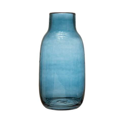 Bloomingville Glas, Blaue Vase