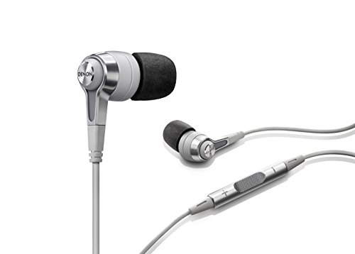 Denon AH-C620 In-Ear Headphones , White -  AHC620WT
