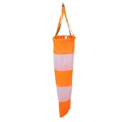 Redxiao 【𝐖𝐞𝐢𝐡𝐧𝐚𝐜𝐡𝐭𝐬𝐠𝐞𝐬𝐜𝐡𝐞𝐧𝐤】 Leicht zu Fliegende und zu lagernde Windmesssocke, Windsack mit reflektierendem Gürtel, Landwirtschaft für die chemische Industrie Umweltschutz(#1)