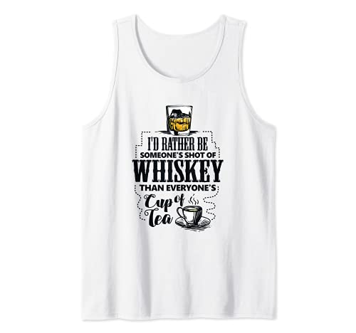 Regalo divertido de beber whisky de malta para un bebedor de whisky Camiseta sin Mangas