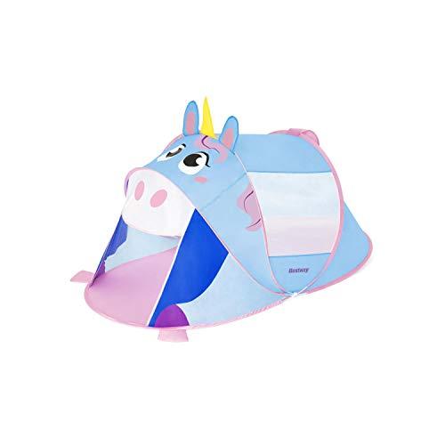 Bestway AdventureChasers Unicorn Play Tent Tienda de campaña, Unisex niños, Mulitcolor, 182 x 96 x 81 cm
