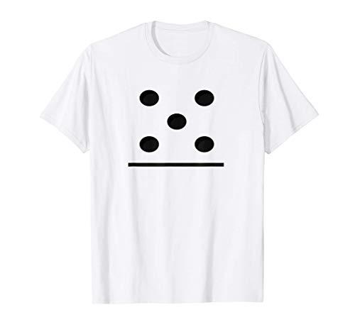 Juego de domin 5-0 - Traje de grupos divertidos Camiseta