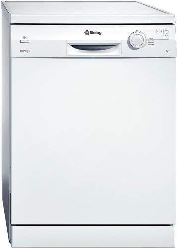 Balay 3VS306BP lavavajilla - Lavavajillas (Independiente, Color blanco, Botones, Giratorio, 52 Db,...