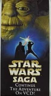 SUPER RARE Hong Kong STAR WARS SAGA YODA Continue The Adventure On VCD Glossy Poster 23