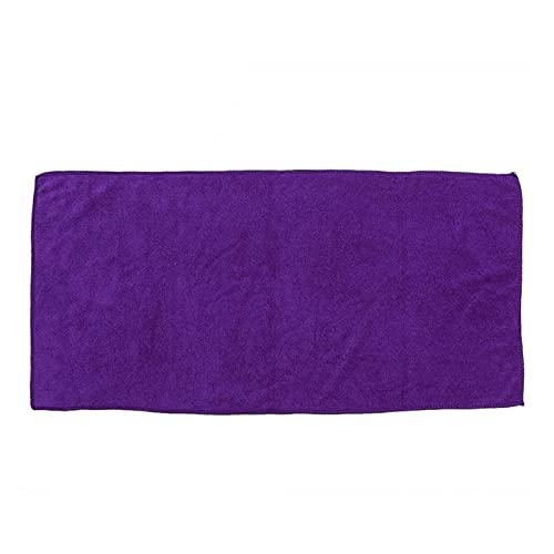 XMYINGWEI Seco Pelo Sombrero Cabello Rizado Belleza Salón Toalla Microfibra Color Sólido Transportable Baño Super Absorbente Secado rápido Cap Cap Secar Salon Accesorio (Color : Purple)