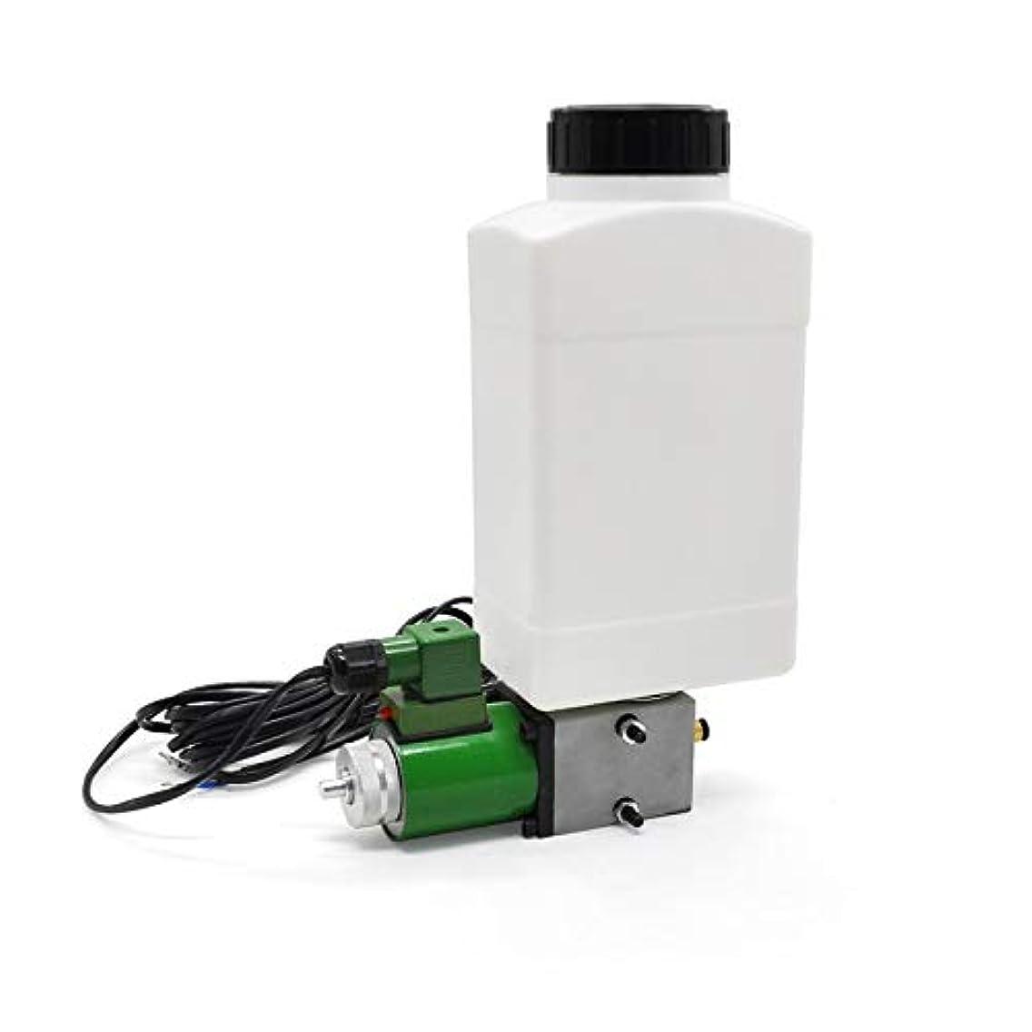 Pumps New 2L 4L 220V Lubricant Pump Automatic Lubricating Oil Pump Electromagnetic Lubrication Pump Lubricator For Elevator SLR CNC - (Voltage: 2L)
