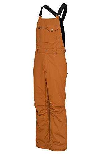 Special Blend Men's Relic Bib Snowboard/Ski Pants (Camel, Small)