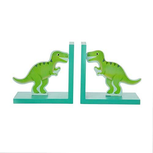 Sass & Belle - Sujetalibros con diseño de dinosaurios