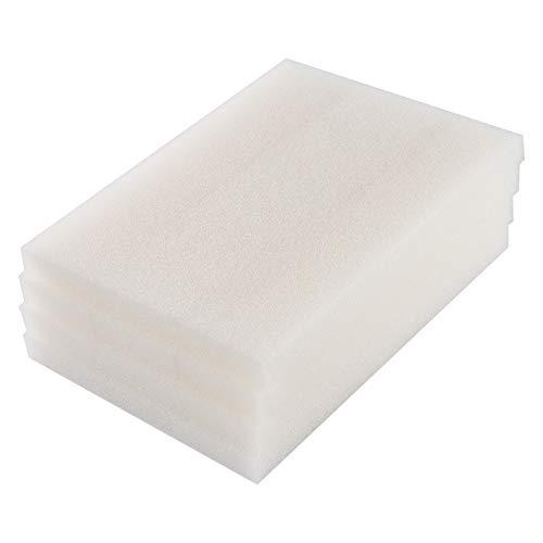 LTWHOME Compatible Filtres en Mousse Appropriés Convient pour Fluval 404, 405 (Pack de 12)