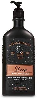 【Bath&Body Works/バス&ボディワークス】 ボディローション アロマセラピー スリープ ブラックカモミール Body Lotion Aromatherapy Sleep Black Chamomile 6.5 fl oz / 192 mL [並行輸入品]