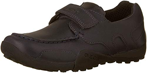Geox J W.Snake Moc B, School Uniform Shoe, Negro (Black 9999), 37 EU
