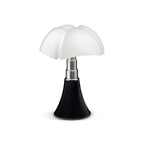 MINI PIPISTRELLO CORD-LESS - Lampe Nomade Noir LED H35cm - Lampe à poser Martinelli Luce designé par Gae Aulenti
