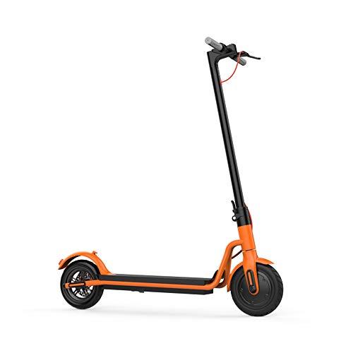 Scooter Eléctrico, Plegable E-Scooter, Plegable Electric Kick Scooter Velocidad MAX 20Mph,15Km De Alcance para Adultos, 350W Motor 36V 4.4Ah, Niños con 8,5 ''neumático Trasero Sólido
