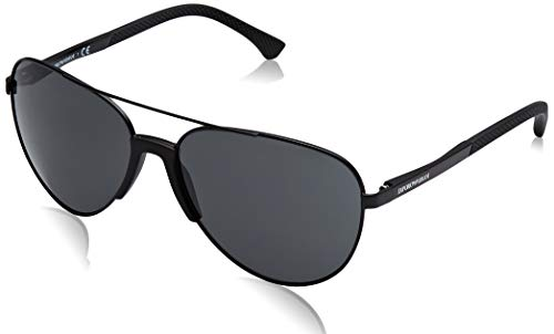 Armani sunglasses for men and women Emporio Armani sunglasses (EA-2059 320387) Black – Grey lenses