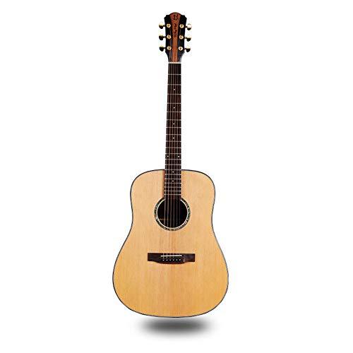 Ning Night Guitarra Popular Sitika Palo De Rosa Positiva Barril Luz Guitarra Folk Madera Contrachapada Guitarra Especificaciones 104 * 37 * 60,41inch
