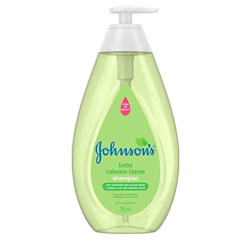 Shampoo Infantil Cabelos Claros, Johnson's, 750ml