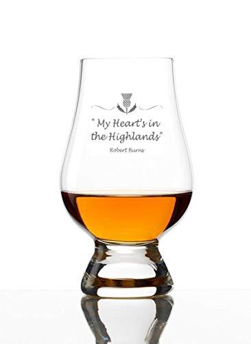 Glencairn Whiskyglas mit Gravur