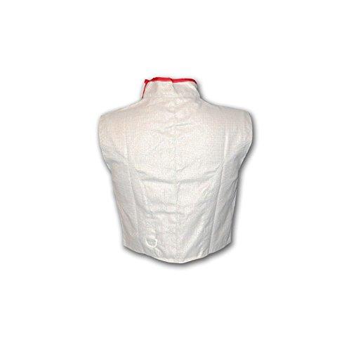 Radical Fencing RF Prieur Washable Electric Fencing Foil Jacket, Lame, MEN'S