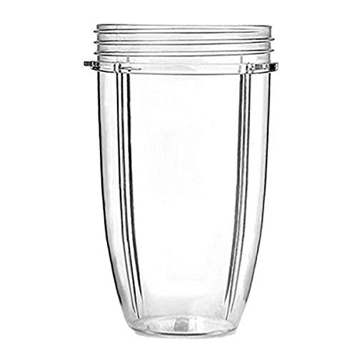 32oz klare Tassen Becher Ersatzteil Entsafter Zubehör für NutriBullet Nutri Kugel 900 Watt 600 Watt Mixer Entsafter
