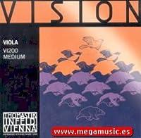 CUERDAS VIOLA - Thomastik (Vision/VI200) (Juego Completo) Medium Viola 4/4
