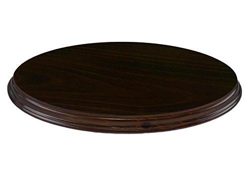 Greca Peanas ovaladas barnizadas. Varias Medidas. En Pino Macizo, Barniz Nogal. (28 * 13 cms)