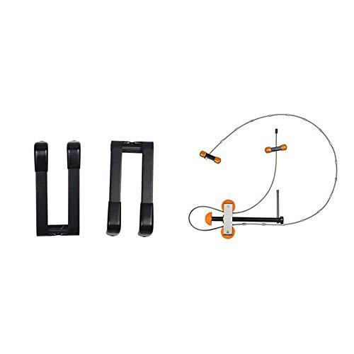 SmartHS Portable Bow Press and Quad Limb L Brackets Set Archery Arrow Shooting Tool for Compound Bow