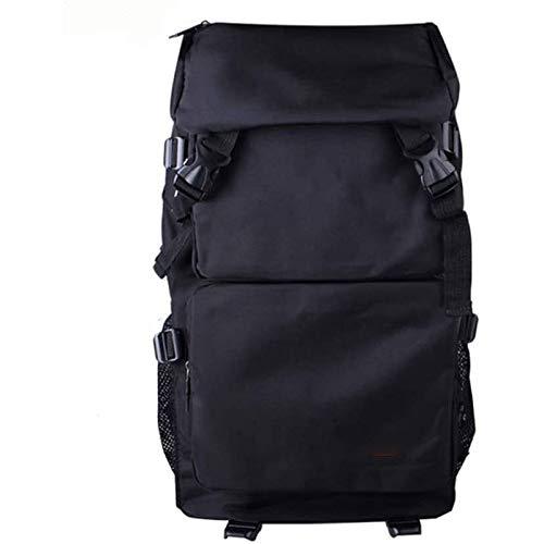 QUIOPOS Los hombres y las mujeres montañismo bolsa de viaje fuera de la capacidad impermeable de gran tamaño apropiadas for las excursiones de senderismo / / escuelas (Color: Gris, Tamaño: 52cm * 30cm