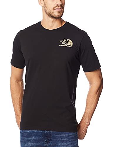 Camiseta manga curta Camiseta Modern Ledge, THE NORTH FACE, Masculino, Preto, M