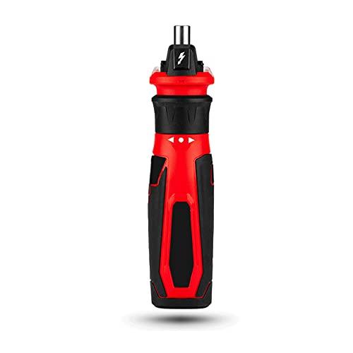 HXXXIN Destornillador eléctrico multifunción para el hogar Recargable con batería de Litio, Mini Mini Herramienta eléctrica para Bricolaje