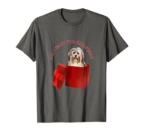 Todo lo que quiero para Navidad Havanese Camiseta