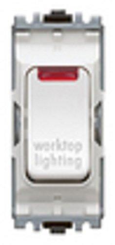 MK K4872D2WHI 2-Gang 20 amp Single-Pole 2-Way Plateswitch