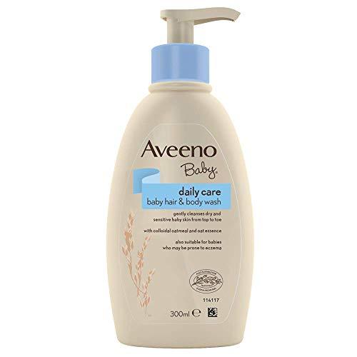 AVEENO Baby Daily Care Hair & Body Wash, 300 ml