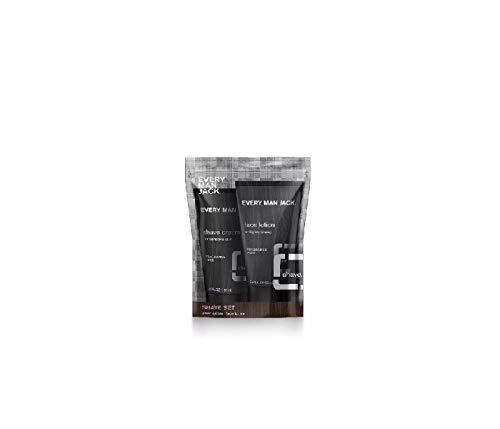 Every Man Jack Fragrance Free Shave Set Sampler (2 OZ/Bottle)