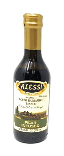 Alessi Pear Infused White Balsamic Vinegar 8.5oz (Pack of 2)