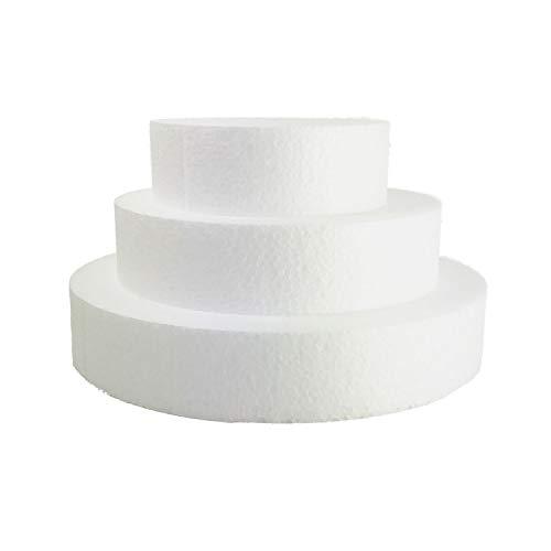 Candix Redondas de poliestireno (Bases de porexpan)