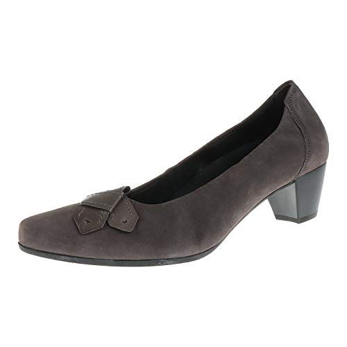 Gabor damskie buty czółenka antracyt grafitowy 5213330, szary - Anthrazit Graphit - 44 EU